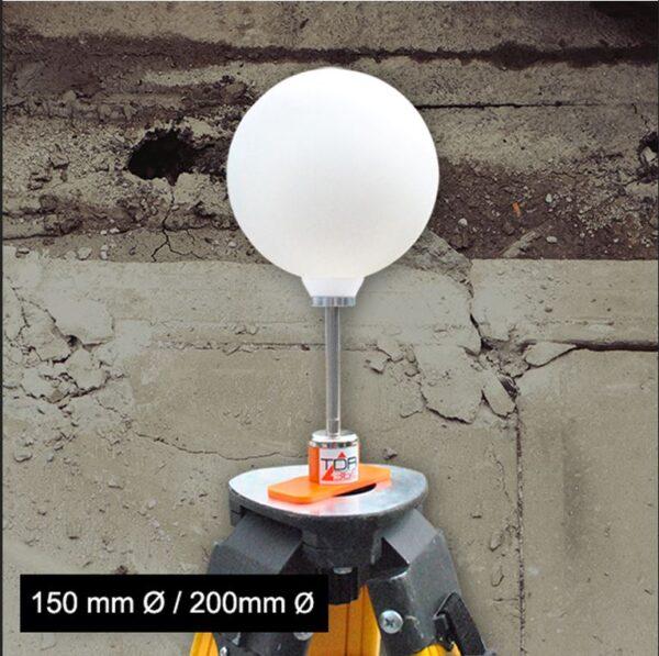 sphère pour scanner 3D