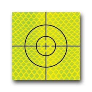 """Cible Réfléchissante D'Arpentage 25mm x 25mm (1"""")"""
