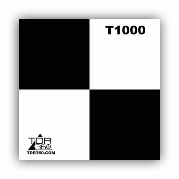 Square target 100mm (4 inch ) for 3D scanner