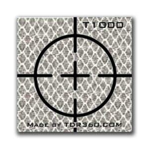 Cible réfléchissante d'arpentage autocollante (croix) 25mm x 25mm (1″x1″) – blanc $ 547.67 – $ 927.67 (CAD)